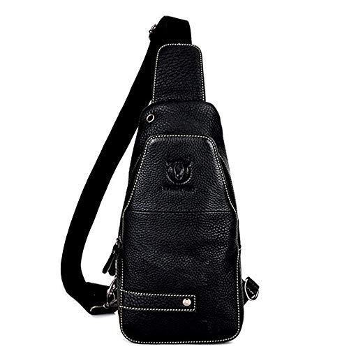 Lan Nero Bag Messenger Shuo Sports Casual Men Fashion Bag Leather UwCnxzd7q4