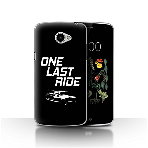 STUFF4 Phone Case/Cover for LG K5/X220 / One Last Ride Design/Street Car Racing Collection