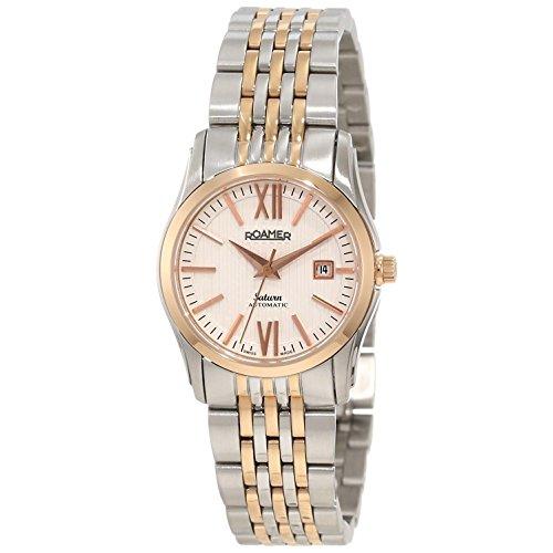 Roamer of Switzerland Women's Odeon 28mm Two Tone Steel Bracelet Automatic Analog Watch 941561 49 13 90