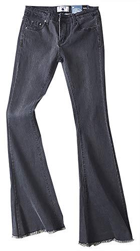 Popoye - Jeans - Femme Gris Clair