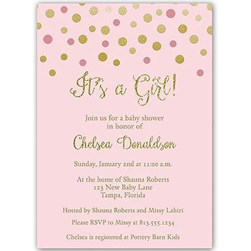 Baby Sprinkle Invitations Amazoncom