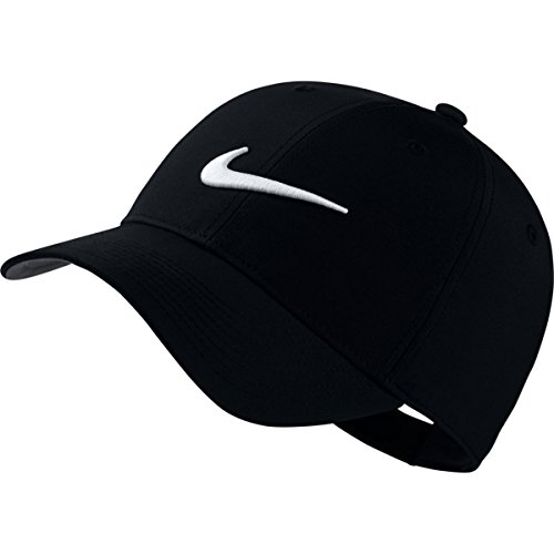 NIKE Legacy91 Adjustable Golf Hat (Black) (Nike Sports Cap)