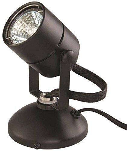 (Good Earth Lighting Micro Halogen Spotlight - 2,000 Hours Lamp Life  - Black)