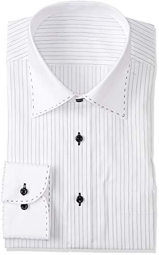 ビジネスワイシャツ ミチコロンドン 形態安定 スッキリボディ メンズ