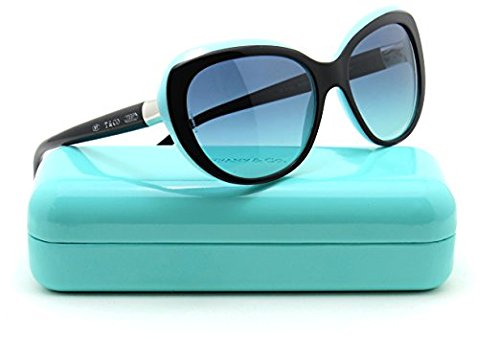 Tiffany & Co. TF 4122 Women Sunglasses Blue Gradient - Butterfly Tiffany Sunglasses