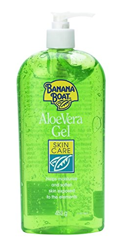 Banana Boat Aloe Vera Skin Care Gel Pump 453 g