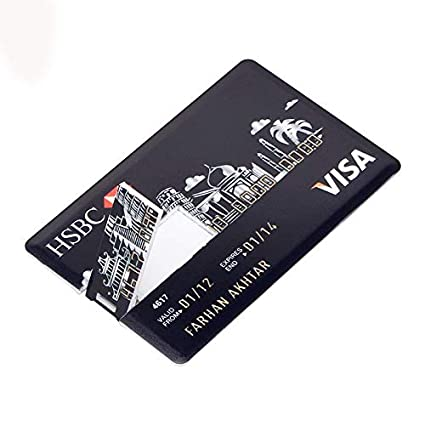 Tobo - HSBC Credit Card Shape USB – Pen Drive: Amazon in: Electronics