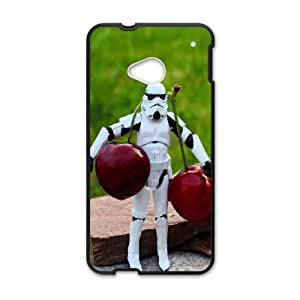 HTC One M7 Cell Phone Case Black stormtroopers toys JNR2066295