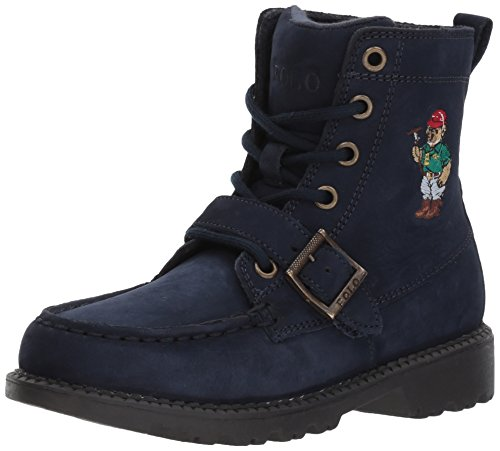 Polo Ralph Lauren Kids Ranger HI II Fashion Boot, Navy Nubuck, 11.5 Medium US Little Kid