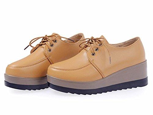 Mme printemps et l'automne Mme chaussures d'ascenseur chaussures de sport avec des chaussures pente muffin simples , US7.5 / EU38 / UK5.5 / CN38