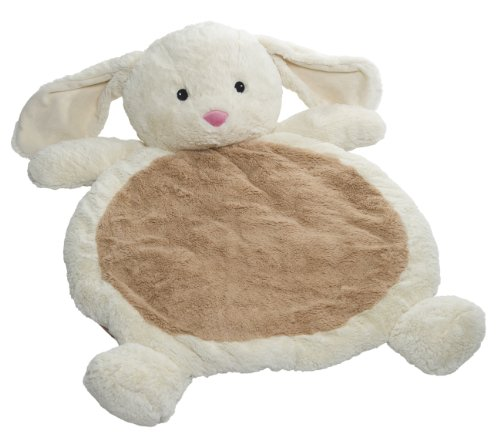 Mary Meyer Bestever Baby Mat, Cream Bunny
