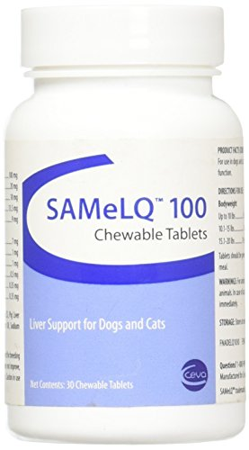 - Vitality SAMeLQ 100 Chewable Tablets 30 ct