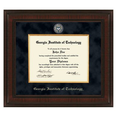 Amazon.com : Georgia Tech Excelsior Diploma Frame : Sports Fan ...