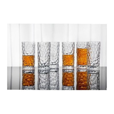 Highball Glass (Set of 6) - Frosted Highball Glass