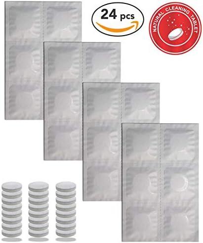 FREEMOVE 2L Hydration Bladder Pack Cleaning Kit or 3 Liter Water Bladder or Cleaning Tabs 24 Pack Leak Proof and BPA Tasteless TPU Water Bladder Reservoir Bag, Quick Release Tube, Shutoff Valve