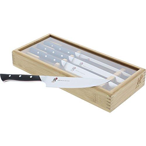 Miyabi Red Series - Morimoto Edition 4-pc Steak Knife Set by MIYABI