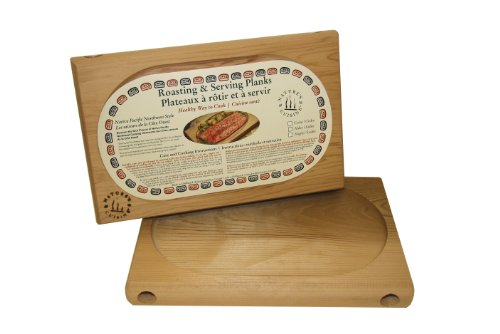 UPC 898705000025, Nature's Cuisine NC002B Cedar Oven Roasting Plank without Wrench, 12 by 7-3/4-Inch