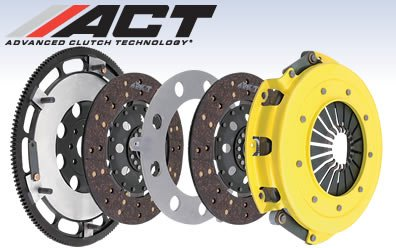 ACT SB11-HDG6 Clutch Kit (Hd ; 6 Puck Sprung Disc (G6); Conversion To 240Mm; Includes Streetlite Flywheel), 1 (6 Puck Kit)