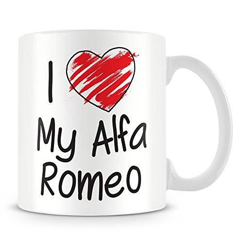 I Love My Alfa Romeo Personalised