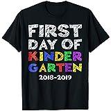First Day Of Kindergarten T-Shirt Back To School Gift Shirt