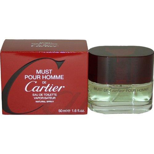 Must De Cartier By Cartier For Men. Eau De Toilette Spray 1.6 Ounces by Cartier