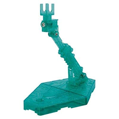 Bandai Hobby Action Base 2 Display Stand (1/144 Scale), Sparkle Green: Toys & Games