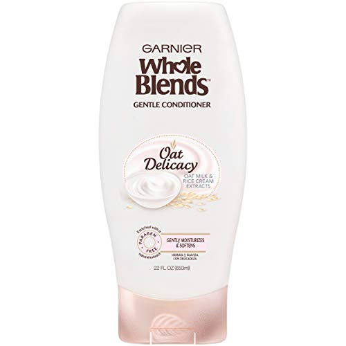 Garnier Whole Blends Gentle Conditioner Oat Delicacy, For Sensitive Scalp, 22 fl. oz. (Garnier Naturals)