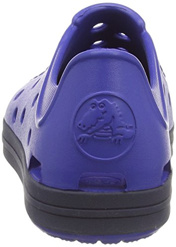 Crocs Bumper Toe Shoe Kids - Zapatillas Unisex Niños Blu (Cerulean Blue/Navy)