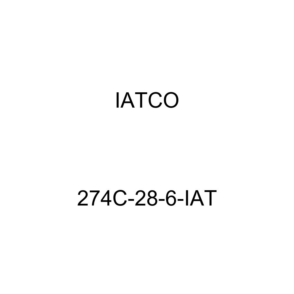 IATCO 274C-28-6-IAT 14'' Mack Drive Lug, Set of 6 by IATCO