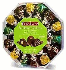 Bon Cafe - Dona Jimena Bombones Surtidos - Avellana, Cafe & Mousse (Assorted Bonbons Hazelnut, Coffee & Chocolate Mousse) 150g