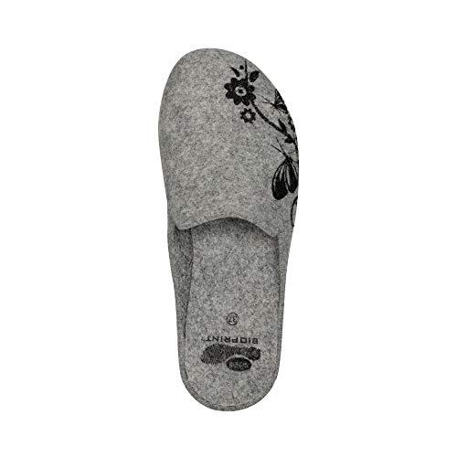 Scholl Zapatillas Dr Estar De Gris Por Fieltro Casa Para Mujer pvxqwgH