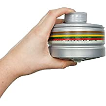 Gas Mask Filter 40mm CBRN Military Grade Gas Mask Filter Made in 2017 (Filter NATO 40 mm)