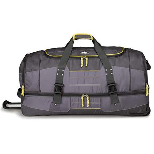 High Sierra Ultimate Access 2.0 Drop Bottom Wheeled Duffel Bag 36-Inch, -