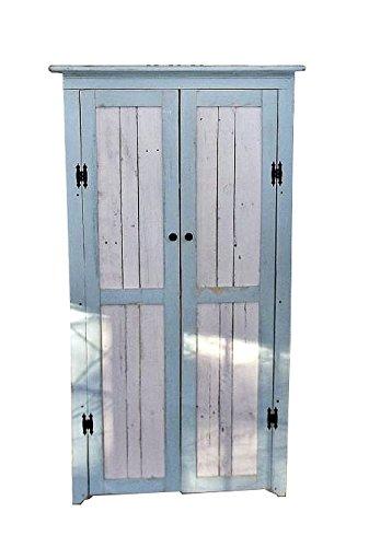 Corner Cabinet With Reclaimed Wood Doors Shelves Handmade