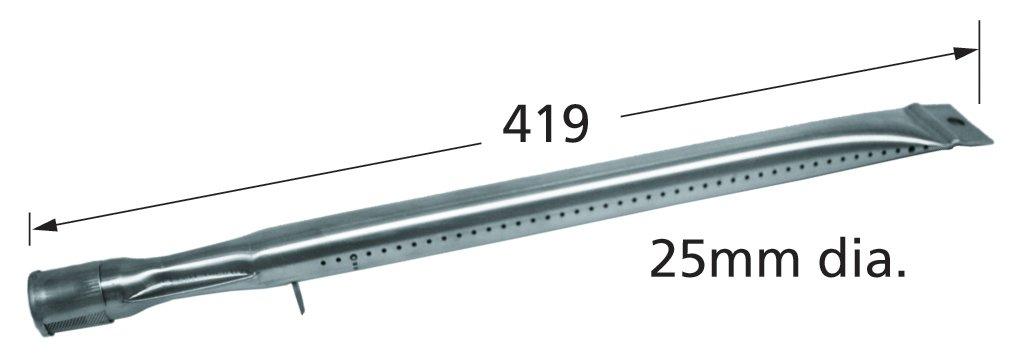 Amazon.com: Quemador de tubería recta de acero inoxidable ...