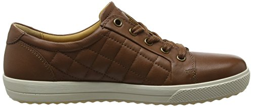 Hotter Women's Brooke Trainers Brown (Dark Tan Quilted 153) sale sast mZzYOjx