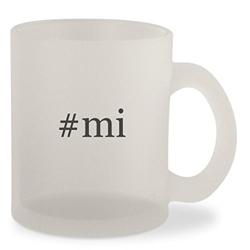 Price comparison product image #mi - Hashtag Frosted 10oz Glass Coffee Cup Mug