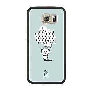 Custom Cute panda Plastic Case, DIY Cute panda Case for Samsung Galaxy Note5