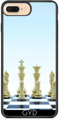 Coque Silicone pour Iphone 7 Plus / 8 Plus - échiquier by Carsten Reisinger