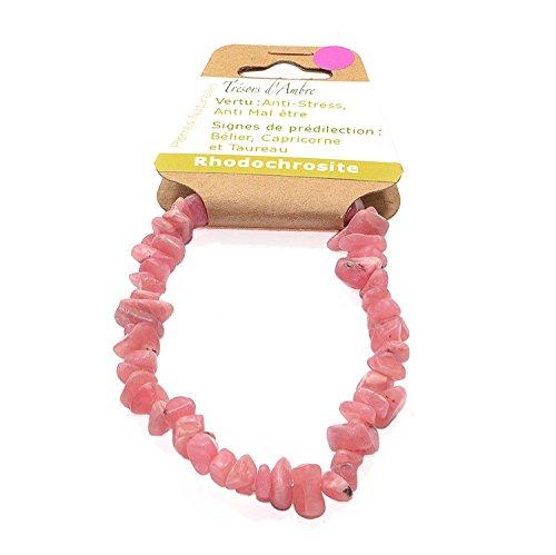 Bracelet Baroque en Rhodochrosite EXTRA - Pierre Naturelle - Reiki - Anti stress - Anti Mal être -