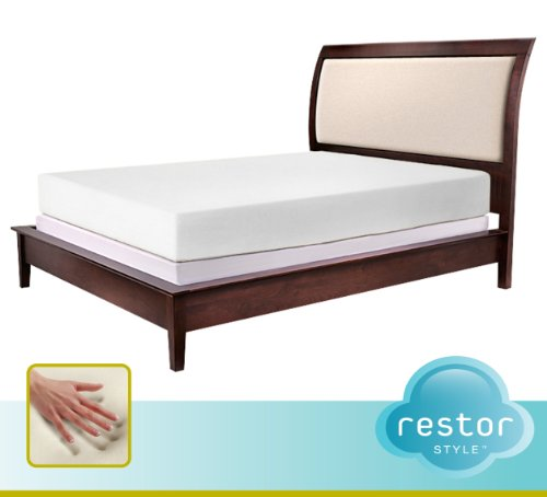RESTOR Style Signature Cool Comfort Memory Foam Collection 10-Inch Plush Support Full Mattress by RESTOR Style (Image #1)
