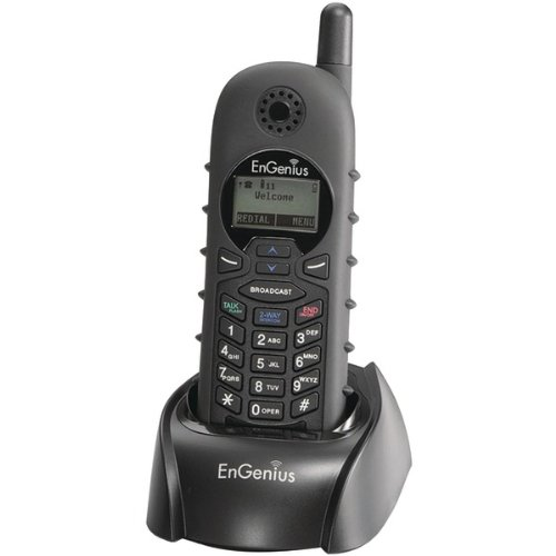 ENGENIUS DuraFon1X- HC Handset and Charger Only For Use with DuraFon 1X System Only ()