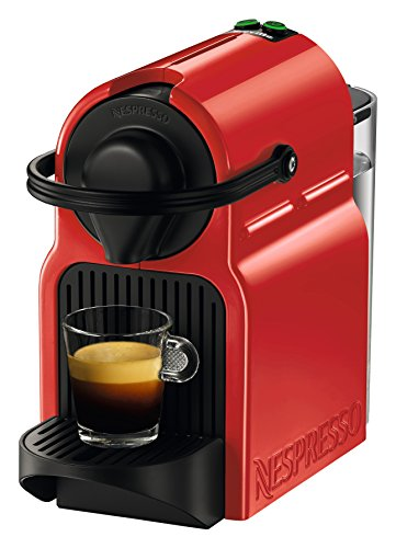 - Breville-Nespresso USA BEC120RED1AUC1 Inissia Espresso Machine, 100, Red