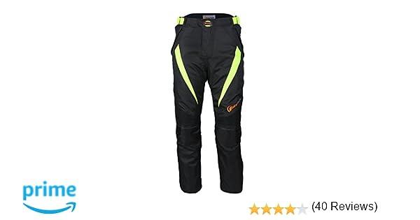 para hombre Pantalones armadura para motoristas LKN impermeables resistentes al viento y a todo tipo de climas protectores