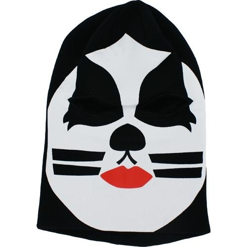 bioWorld Kiss: The Catman Halloween Costume Ski Mask