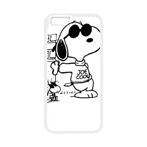 iPhone 6 Plus 5.5 Inch Cell Phone Case White Snoopy 004 WON6189218982156