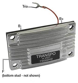 418mCSNdBvL._SY355_ amazon com new hd voltage regulator for leece neville alternator