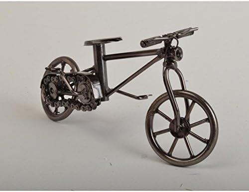 Metal bicicleta – Adorno – hecho a mano de la novedad miniatura de ...