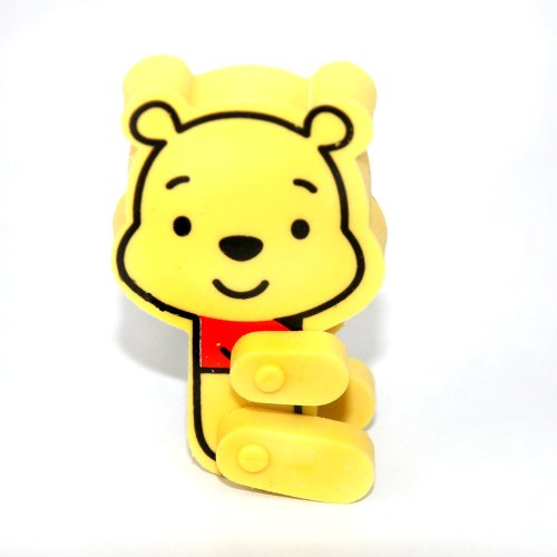 Winnie the Pooh Funny Figure Erasers / Rubber (Disney)