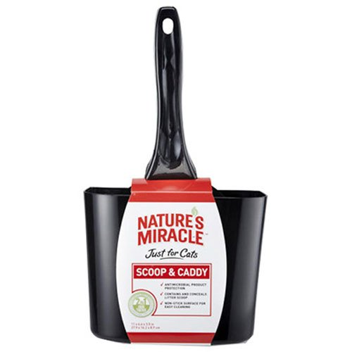 (Nature's Miracle Non-Stick Antimicrobial Scoop & Caddy)